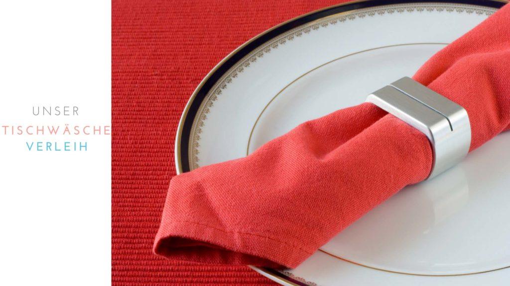 Unser Tischwäscheverleih - für alle Anlässe